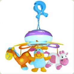 Мини-мобиль на прищепке Biba Toys Счастливая ферма (349BM)
