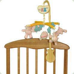 Мобиль Biba Toys Счастливые медвежата Розовый (039BM pink)