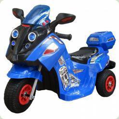 Мотоцикл детский (Надувные резиновые колеса), синий
