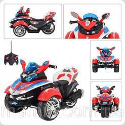 Мотоцикл для детей М 2222 R-3 НА Р/У Bambi (Metr+)