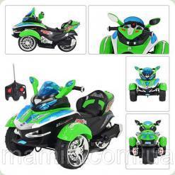 Мотоцикл для детей М 2222 R-5 НА Р/У Bambi (Metr+)
