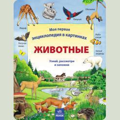 Моя первая энциклопедия в картинках: Животные, рус. (Р121003Р)
