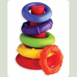 """Моя первая развивающая игрушка """"Пирамидка"""" (от 6 мес.)"""