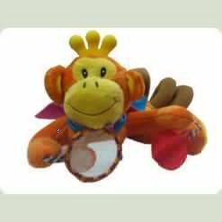 Мультиактивная игрушка Biba Toys Обезьянка-путешественница (061JF)