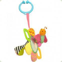 Мультиактивная игрушка-погремушка Biba Toys Любимый цветочек (002GD)