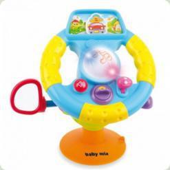 Музыкальная игрушка Руль Alexis-Babymix PL308517