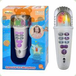 Музыкальная игрушка WinFun 2077 NL Микрофон