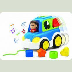 Музыкальная каталка Keenway Машинка-сортер (31527)