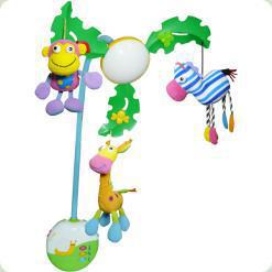 Музыкальный мобиль Biba Toys Пальмовое дерево c LED-подсветкой (067JF)