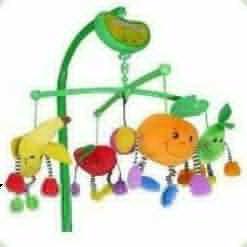 Музыкальный мобиль Biba Toys Сочные фрукты (082BM)