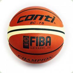 Мяч баскетбольный WINNER Champion FIBA  № 7 (кожа)