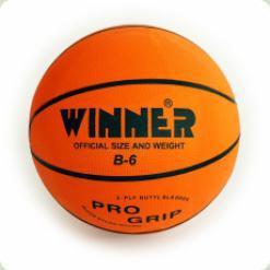 Мяч баскетбольный WINNER Orange B-6
