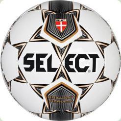 Мяч футбольный SELECT Brillant Replika № 4  бел-сер-кор-чер