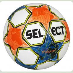 Мяч футбольный SELECT Classic № 5  сине-оранжевый