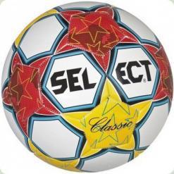 Мяч футбольный SELECT Classic № 5  желто-красный
