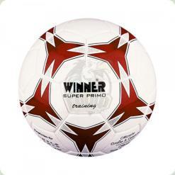 Мяч футбольный WINNER Super Primo № 5  бело-красный