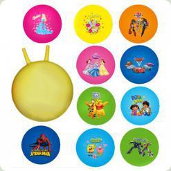 Мяч-прыгун Bambi M 0067 U/R с рожками 45 см Дисней Цвета в ассортименте