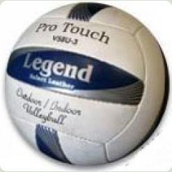 Мяч волейбольный LEGENDA  LG2018 бело-сине-серый