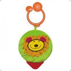 Мягкая игрушка-прорезыватель Biba Toys (049JF)