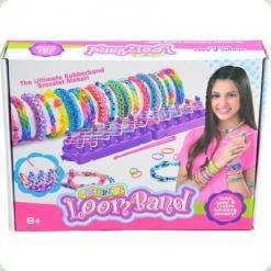 Набор для плетения браслетов Rainbow Loom Bambi E2003A