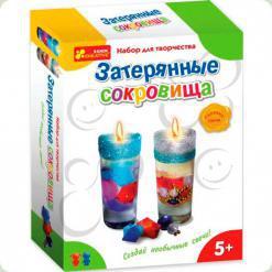 Набор для творчества Ranok Creative Гелевые свечи Затерянные сокровища (3065)