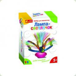 Набор для творчества Ranok Creative Лампа-светлячок Павлин (15100142Р,9003)