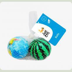 Набор игрушечных мячей