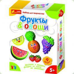 Набор Ranok Creative Гипс на магнитах: Фрукты. Овощи (4004)