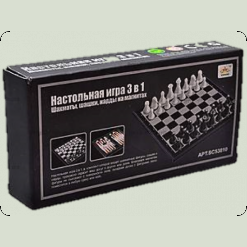 """Набор шахмат """"3 в 1"""""""