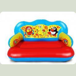 Надувная игрушка Play WOW Большой диван Веселые друзья (3042PW)