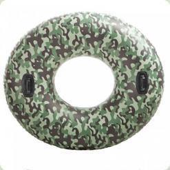 Надувной круг Intex Camo (58265)