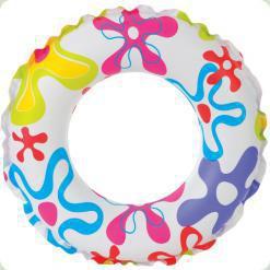 Надувной круг Intex Цветной (59241)