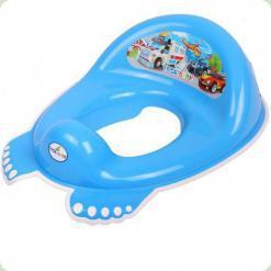 Накладка на унитаз антискольз. Tega Cars CS-002 blue