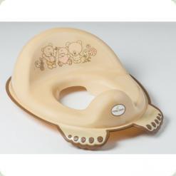 Накладка на унитаз антискольз. Tega Mis MS-016 capuccino pearl