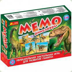 Настольная игра Ranok Creative Мемо: Динозавры (12120029Р,1983)