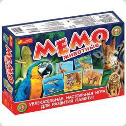Настольная игра Ranok Creative Мемо: Животные (12120030Р,1984)