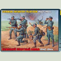 Немецкий пехотный взвод