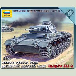 Немецкий средний танк Pz.Kp.fw.III G