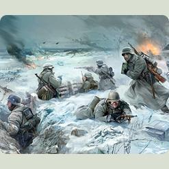 Нем.пехота. Восточный фронт. Зима 1941-1942гг.