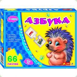 Обучающие пазлы Ranok Creative Азбука русская (6403-a)
