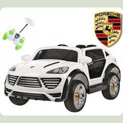 Одноместный электромобиль Porshe Cayenne Turbo, с пультом управления