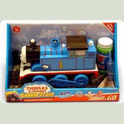 Паровозик на бат. Thomas Bubble Train мильні бульбашки