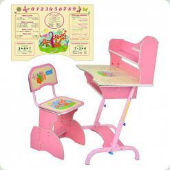 Парта Bambi HB 2072-02-7 Pink