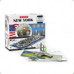 Пазл 4D Cityscape Нью-Йорк США (40010)