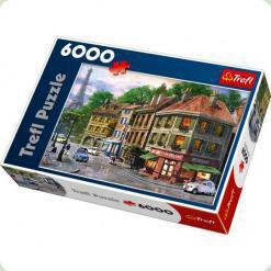 Пазл Trefl Улица в Париже, 6000 элементов (65001)