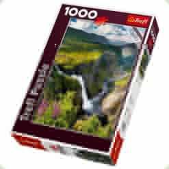 Пазл Trefl Водопад Верингсфоссен в Норвегии, 1000 элементов (10382)