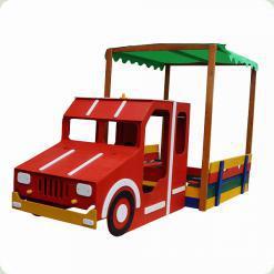 Песочница - Пожарная машина