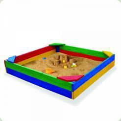 Песочница цветная