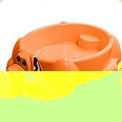 Песочница-бассейн Собачка, оранжевого цвета