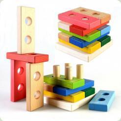 Пирамидка-конструктор Логика